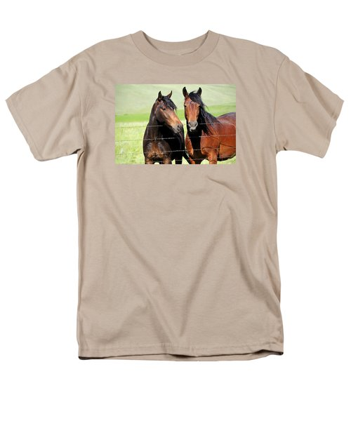 Men's T-Shirt  (Regular Fit) featuring the photograph Friends by Fran Riley