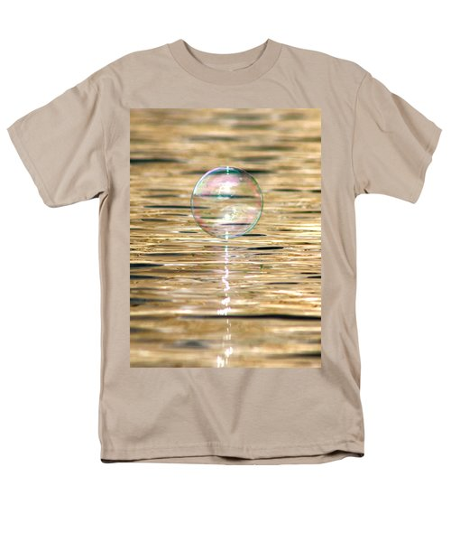 Golden Bubble Men's T-Shirt  (Regular Fit) by Cathie Douglas