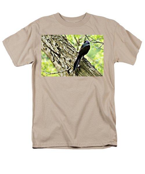 Grackle 1 Men's T-Shirt  (Regular Fit) by Joe Faherty