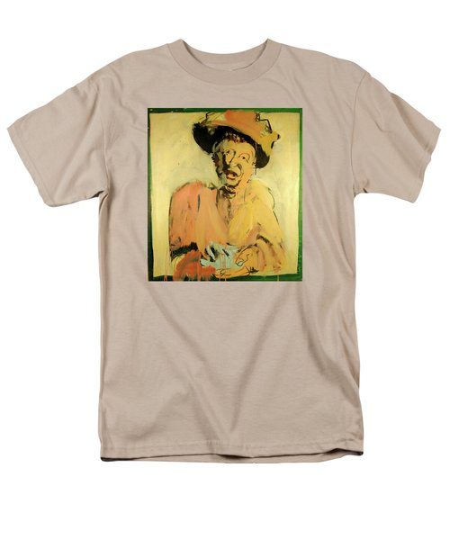 Men's T-Shirt  (Regular Fit) featuring the painting Gretchen Colnik by Les Leffingwell