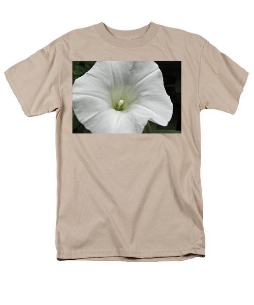Men's T-Shirt  (Regular Fit) featuring the photograph Hedge Morning Glory by Tikvah's Hope