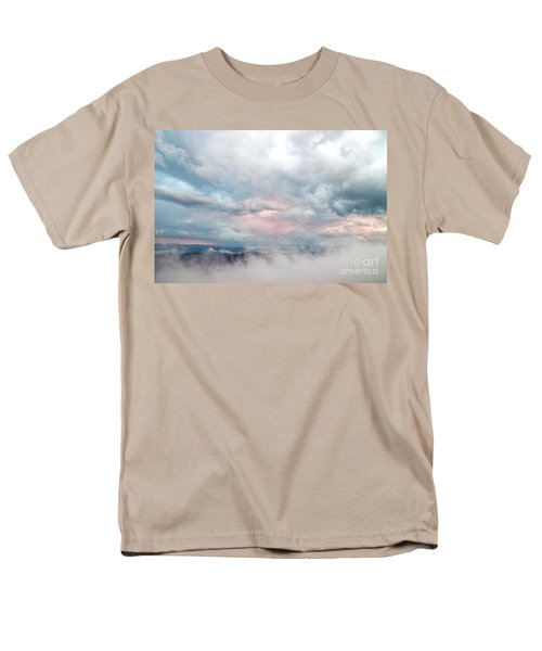Men's T-Shirt  (Regular Fit) featuring the photograph In The Clouds by Jeannette Hunt