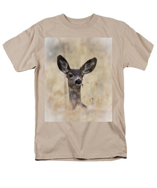 Men's T-Shirt  (Regular Fit) featuring the photograph Little Fawn by Steve McKinzie
