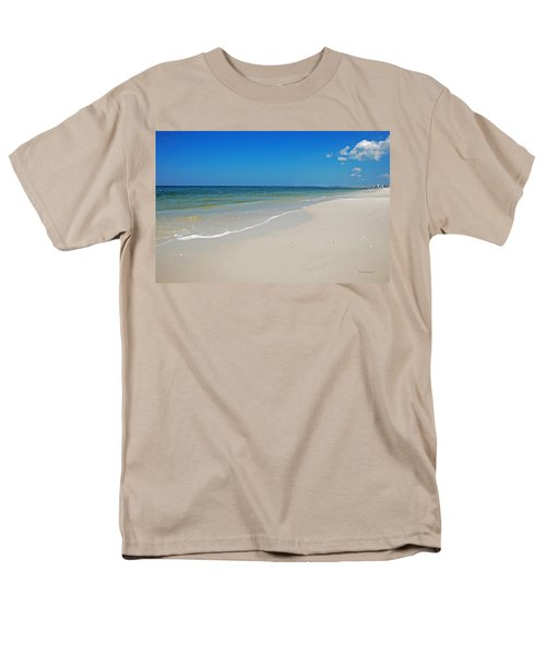 Mexico Beach Men's T-Shirt  (Regular Fit) by Kay Lovingood