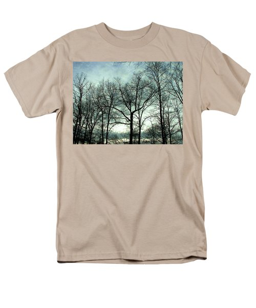 Men's T-Shirt  (Regular Fit) featuring the photograph Mirage In The Clouds by Pamela Hyde Wilson