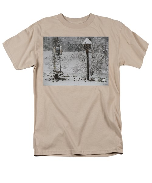 Men's T-Shirt  (Regular Fit) featuring the photograph My Backyard by Donna Brown
