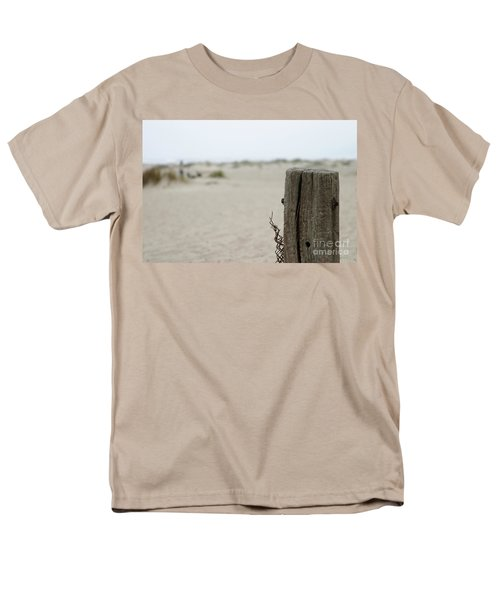 Old Fence Pole Men's T-Shirt  (Regular Fit) by Henrik Lehnerer