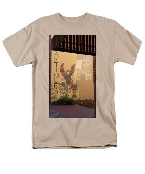 Men's T-Shirt  (Regular Fit) featuring the photograph Old Town Grants Pass Detail by Mick Anderson