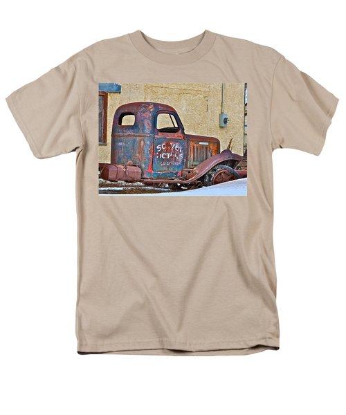 Old Truck Men's T-Shirt  (Regular Fit) by Johanna Bruwer