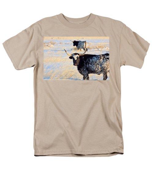 Men's T-Shirt  (Regular Fit) featuring the photograph Open Range by Jim Garrison