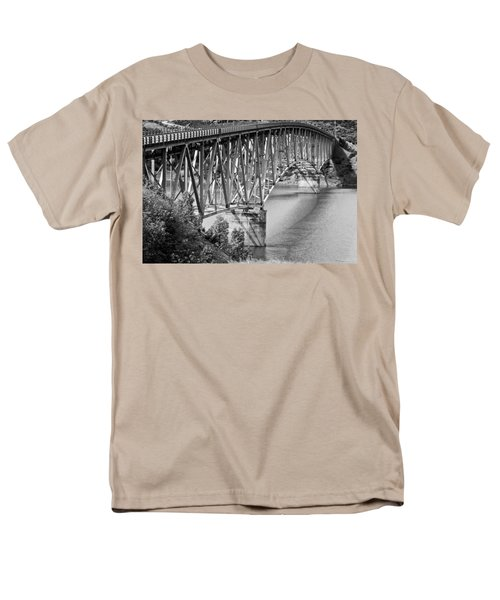 Over The River Men's T-Shirt  (Regular Fit) by Colleen Coccia