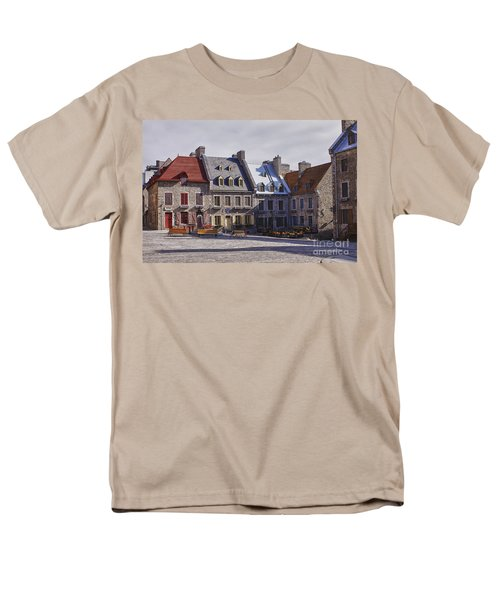Place Royale Men's T-Shirt  (Regular Fit) by Eunice Gibb