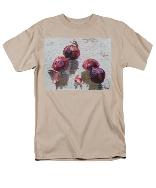 Red Onions Men's T-Shirt  (Regular Fit) by Ylli Haruni