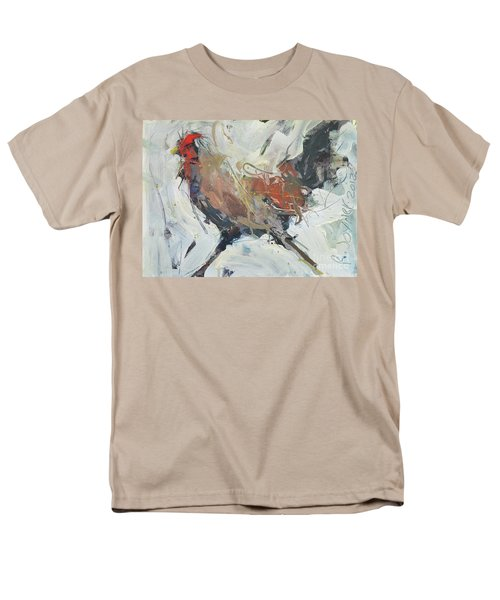 Rooster Art  Men's T-Shirt  (Regular Fit) by Robert Joyner