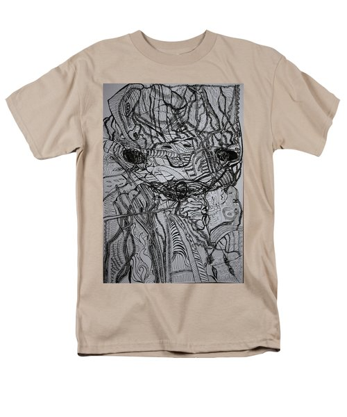 Men's T-Shirt  (Regular Fit) featuring the drawing Shango by Gloria Ssali