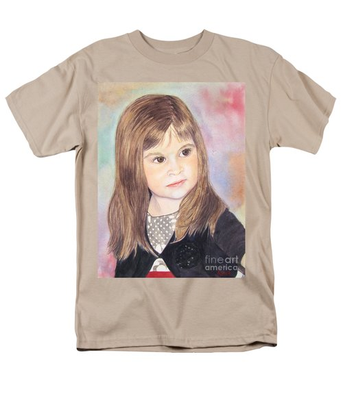 Men's T-Shirt  (Regular Fit) featuring the painting Shelby by Carol Flagg