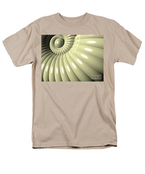 Men's T-Shirt  (Regular Fit) featuring the digital art Shell Of Repetition by Phil Perkins