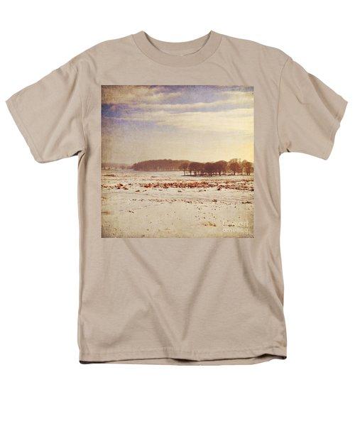 Snowy Landscape Men's T-Shirt  (Regular Fit) by Lyn Randle