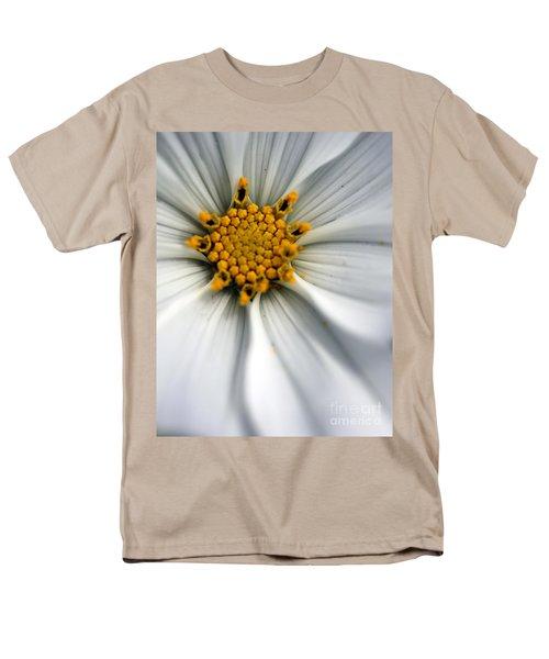 Men's T-Shirt  (Regular Fit) featuring the photograph Sonata Cosmos White by Henrik Lehnerer