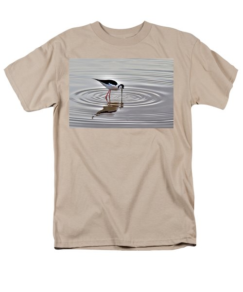 Men's T-Shirt  (Regular Fit) featuring the photograph Black-necked Stilt by Tam Ryan