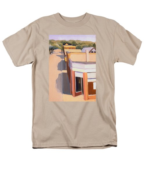 Stoneham Square Three 1979 Men's T-Shirt  (Regular Fit) by Nancy Griswold