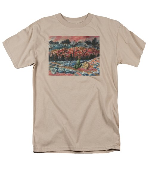 Sunset In The Cheatgrass Men's T-Shirt  (Regular Fit) by Dawn Senior-Trask