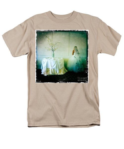 Men's T-Shirt  (Regular Fit) featuring the photograph The Bride Takes A Moment by Nina Prommer