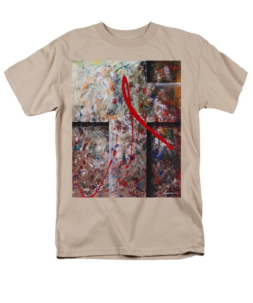 Men's T-Shirt  (Regular Fit) featuring the painting The Greatest Love by Kume Bryant