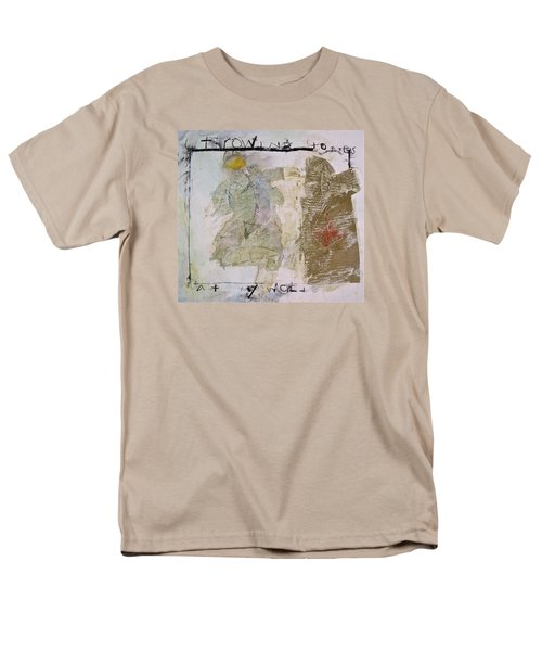 Throwing Stones At My World Men's T-Shirt  (Regular Fit) by Cliff Spohn