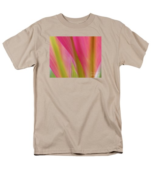 Men's T-Shirt  (Regular Fit) featuring the photograph Ti Leaves by Ranjini Kandasamy