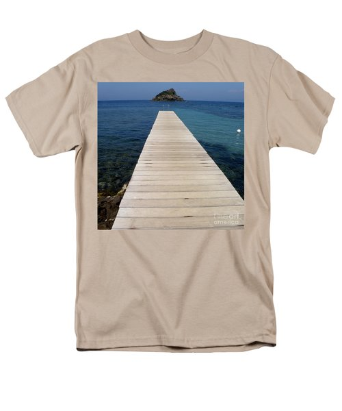 Tranquility  Men's T-Shirt  (Regular Fit) by Lainie Wrightson
