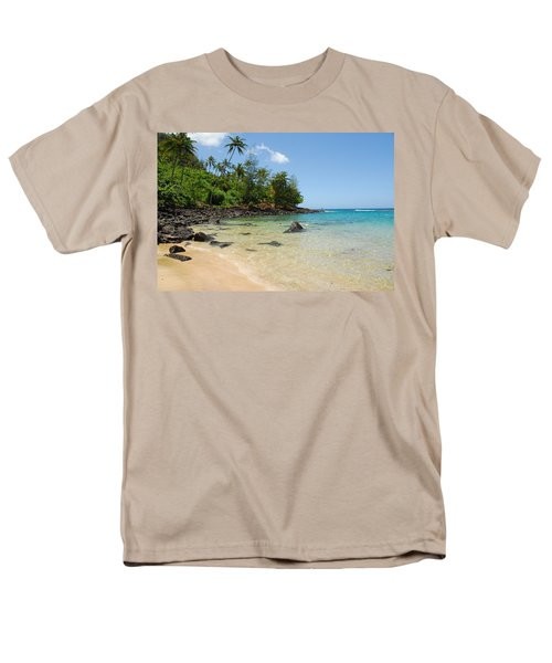 Men's T-Shirt  (Regular Fit) featuring the photograph Tropical Paradise by Lynn Bauer