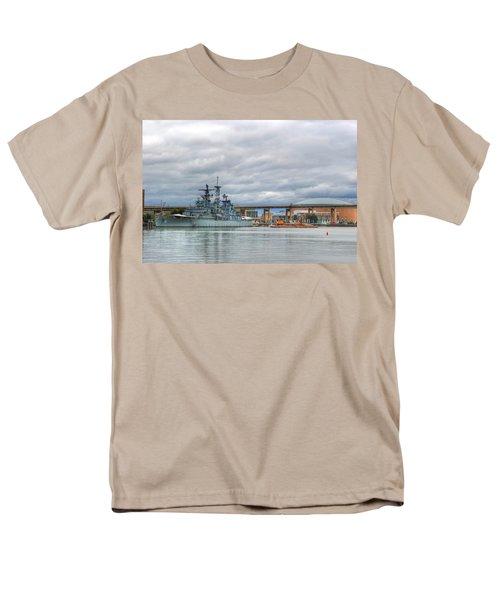 Men's T-Shirt  (Regular Fit) featuring the photograph Uss Little Rock by Michael Frank Jr