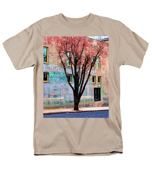 Men's T-Shirt  (Regular Fit) featuring the photograph Wall Wth Secrets by Lizi Beard-Ward