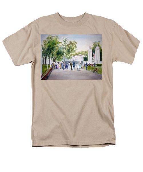 White City Men's T-Shirt  (Regular Fit)