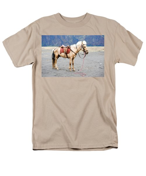 White Horse Men's T-Shirt  (Regular Fit) by Yew Kwang