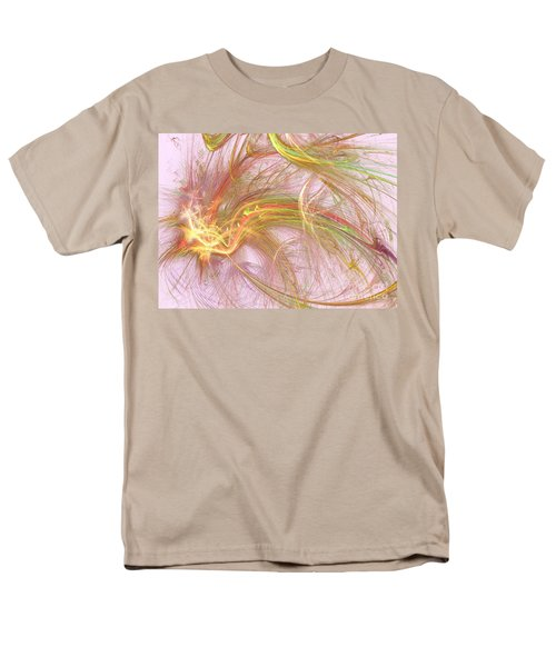 Men's T-Shirt  (Regular Fit) featuring the digital art Wispy Willow by Kim Sy Ok