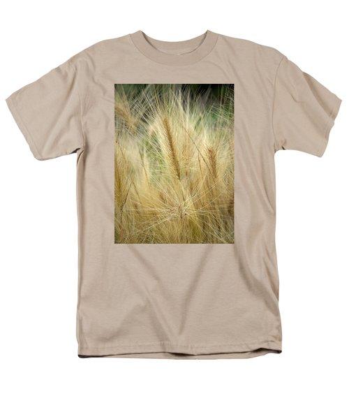 Foxtail Barley Men's T-Shirt  (Regular Fit) by Jouko Lehto