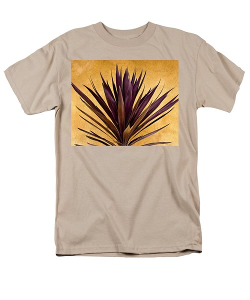 Purple Giant Dracaena Santa Fe Men's T-Shirt  (Regular Fit) by John Hansen