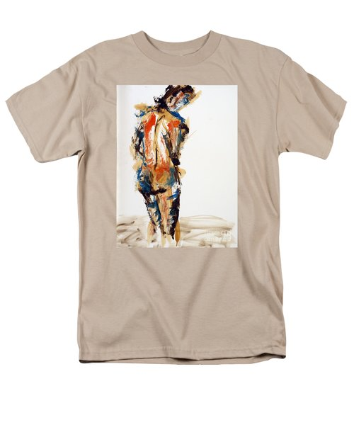04855 No Regrets Men's T-Shirt  (Regular Fit) by AnneKarin Glass