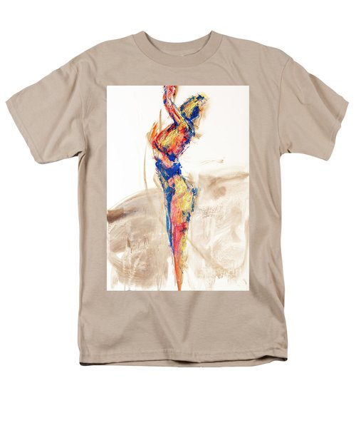 04997 Bird Call Men's T-Shirt  (Regular Fit) by AnneKarin Glass