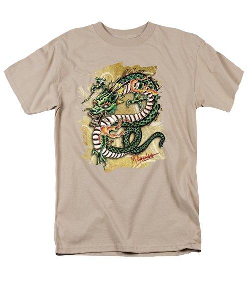 Asian Dragon Men's T-Shirt  (Regular Fit) by Maria Arango