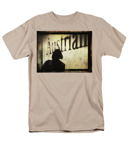 Austrian Silhouette Men's T-Shirt  (Regular Fit) by Siegfried Ferlin
