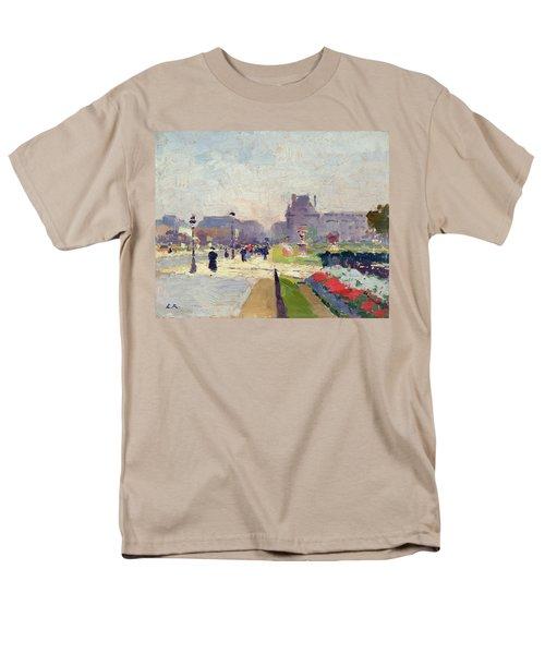 Avenue Paul Deroulede Men's T-Shirt  (Regular Fit) by Jules Ernest Renoux