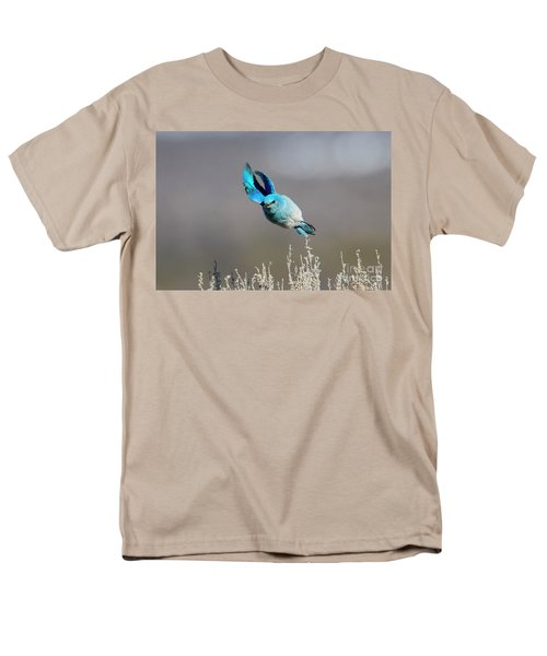 Men's T-Shirt  (Regular Fit) featuring the photograph Bank Right by Mike Dawson