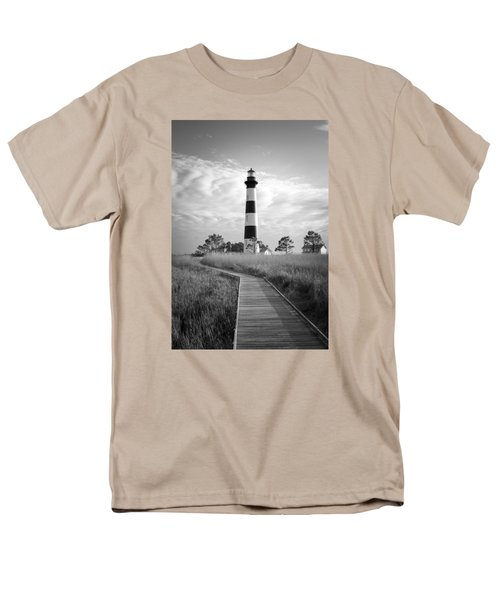 Men's T-Shirt  (Regular Fit) featuring the photograph Bodie Island Lighthouse by Marion Johnson