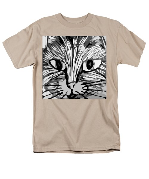 Cat Men's T-Shirt  (Regular Fit) by Michelle Calkins