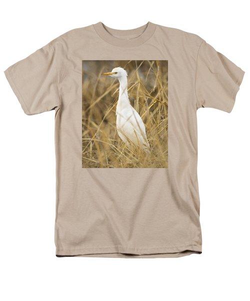 Cattle Egret Men's T-Shirt  (Regular Fit) by Doug Herr