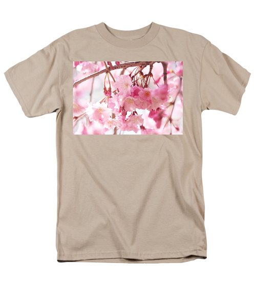 Cherry Blossoms Men's T-Shirt  (Regular Fit) by Trina Ansel