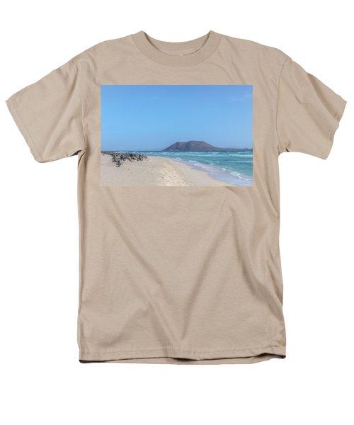 Corralejo - Fuerteventura Men's T-Shirt  (Regular Fit) by Joana Kruse